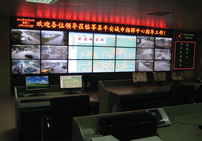山东莘县平安城市项目