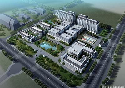 西安市中醫醫院拆建工程