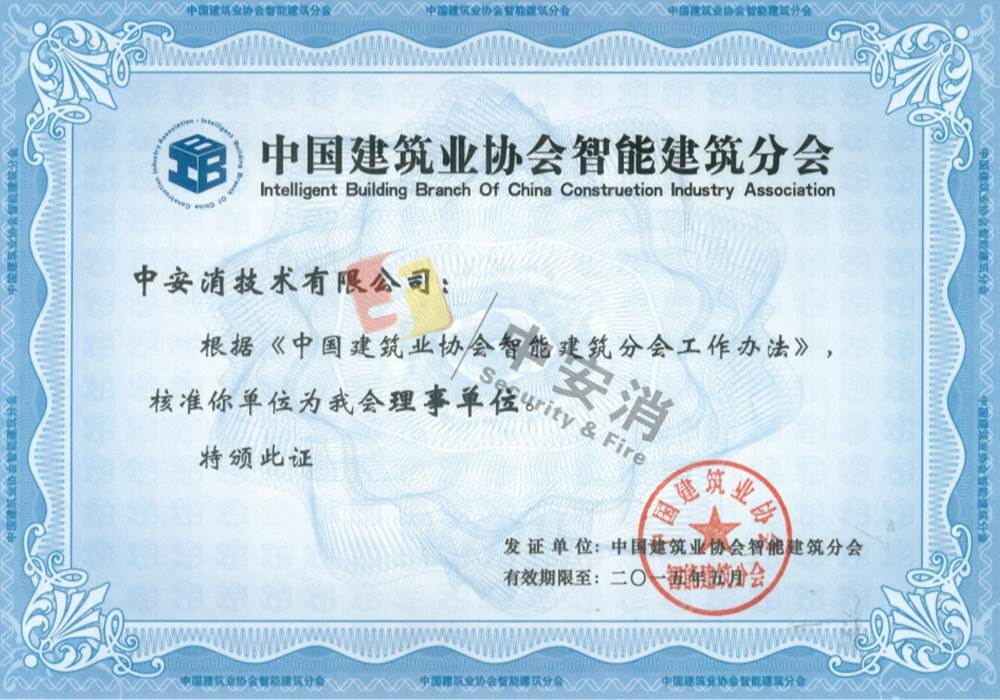 Member of China Construction Industry Association