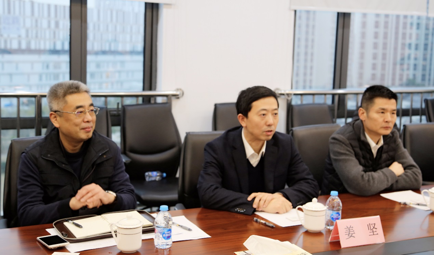 Jiang Jian, deputy director of Putuo District and chief of Putuo Public Security Bureau visited China Security